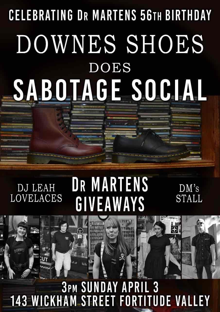 downes Sabotage Poster