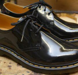1461 Patent Black 3 Eyelet Shoe