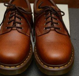 8053 Tan Harvest 5 Eyelet Shoe