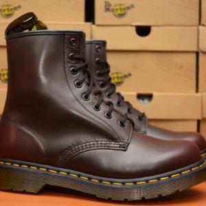 1460 Red Vintage 8 Eyelet Boot