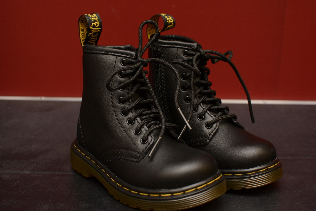 Toddler 1460 aka Brooklee Black Softy T Boot