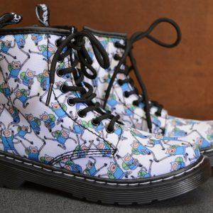 Adventure Time Finn Junior 1460 Boot
