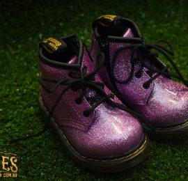 infant 1460 glitter dark pink logo web