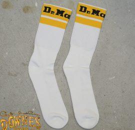 Athletic sock white logo web