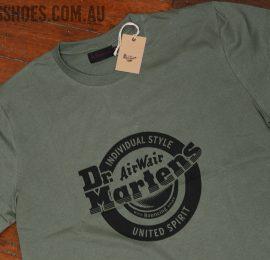 lock up khaki shirt close logo web