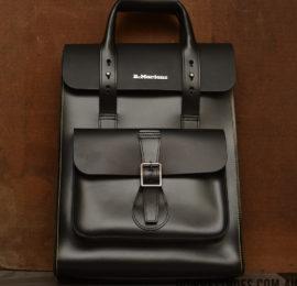 backpack black smooth logo web